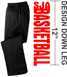 Adult & Youth Moisture Wicking Sweatpants Moisture Wicking Sweatpants