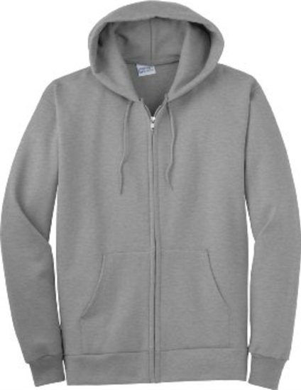 Full Zip Hooded Sweatshirt - GPC-PC90ZH dd2398685e