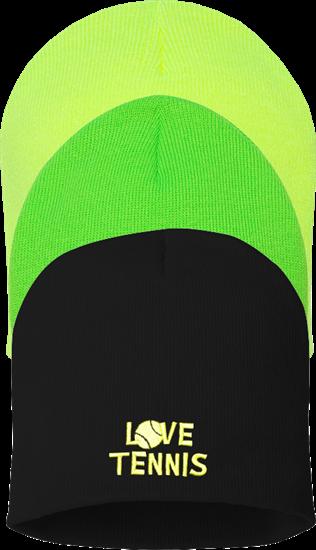 Love Tennis Beanie - MTCA-SSSP08 3bfa74fddab